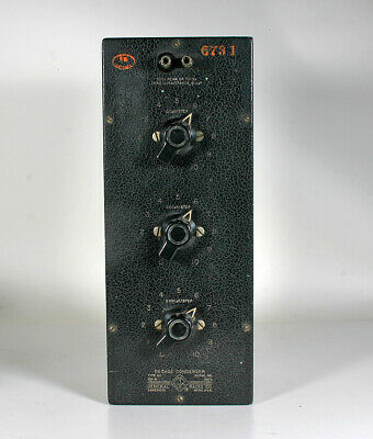 General Radio Co Type 219-M Decade Condenser Box