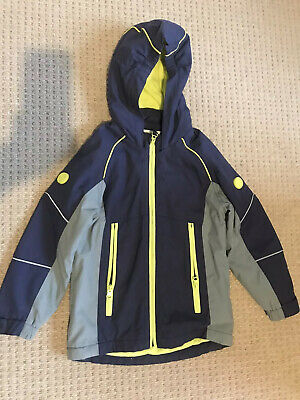 Marks And Spencer's Boys Waterproof Coat With Flashing Lights Size 5-6