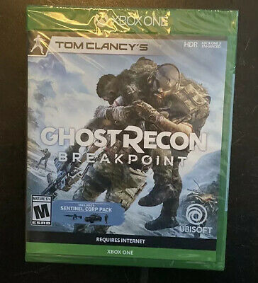 Tom Clancy's Ghost Recon Breakpoint Xbox One 2019 New Free SENTINEL CORP PACK