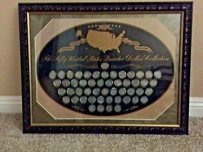 US Commemorative Gallery ~ The Fifty United States Quarter Dollar Collection
