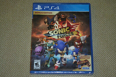 Sonic Forces Bonus Edition (Sony PlayStation 4) Brand New Fast Shipping PS4