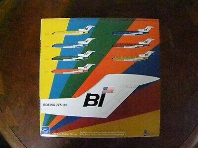 InFlight  Braniff International Boeing 727-100 IF721015 Diecast Model Jet 1:200