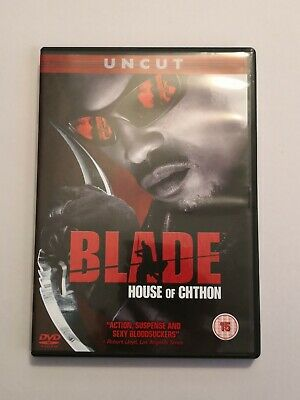 Blade - House Of Chthon (DVD, 2007)