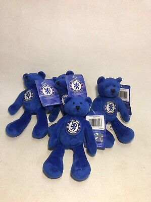 Joblot Official Chelsea FC Beanie Bear Teddy Football Club Merchandise Christmas