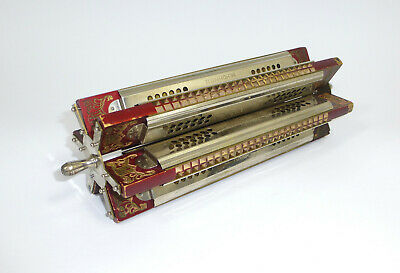 Tremolo Harmonica with Hohner cross Turner um 1900