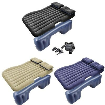 Car Air Bed Inflatable Mattress Protable Sleep Back Seat Rest Bed Travel Camping