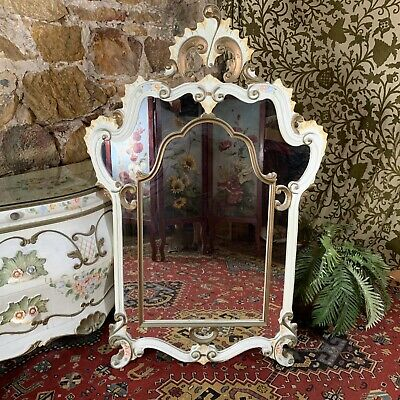 Superb Antique French Louis Style Wall Mirror-Hall-Bedroom-Excellent Quality