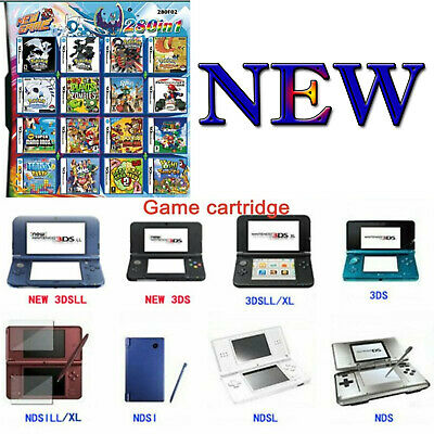 280in1 Super Combination Games Cartridge for NINTENDO 2DS/NDS/DSLITE/DSi/3DS/Xl