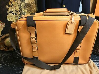 """LOUIS VUITTON Limited Edition Auth. 20"""" Nomade Leather Duffle Travel Suitcase"""