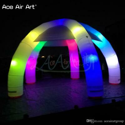 20 ft inflatable round  tent with LED lights