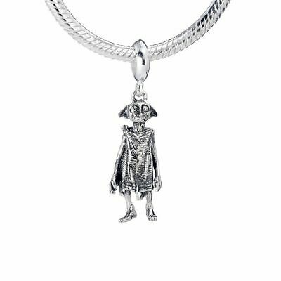 Harry Potter Sterling Silver Dobby The House-Elf slider charm by The Carat Shop