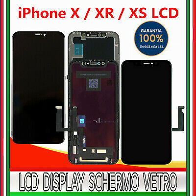 Oled Display Per Apple Iphone X/Xs/Xr Lcd Assemblato Touch Screen Schermo Vetro