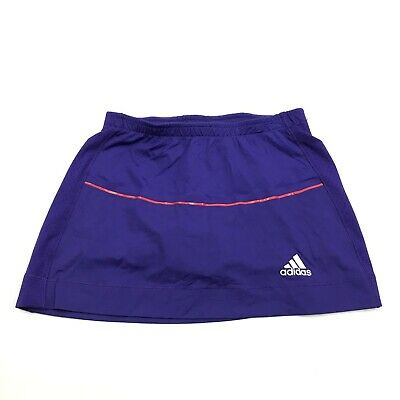 NEW Adidas CLimacool Skorts Size XS Women's Skirt Pull On Purple Shorts Lined
