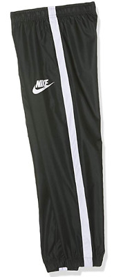 Nike Boys Nsw Woven Tracksuit Bottoms Trousers Outdoor Green 8-10YRS  *REF89