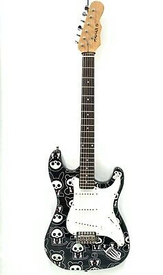 Mahar 6-String Electric Guitar. Special Edition Skelanimals Paint