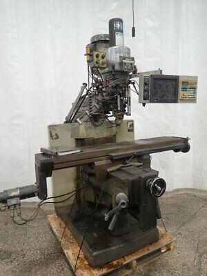 "Bridgeport  Ez Trak Dx Ii Cnc Vertical Mill 11"" X 58"" 12190490005"