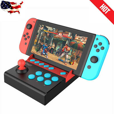 New Arcade Joystick Controller Gamepad For Nintendo Switch Console Plug And Play