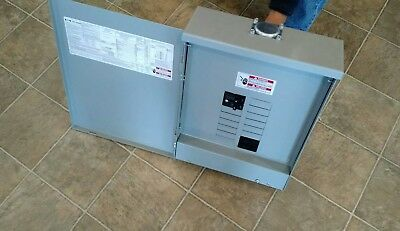 Eaton Cutler-Hammer 100 Amp Outdoor Load center with main breaker  **NEW**