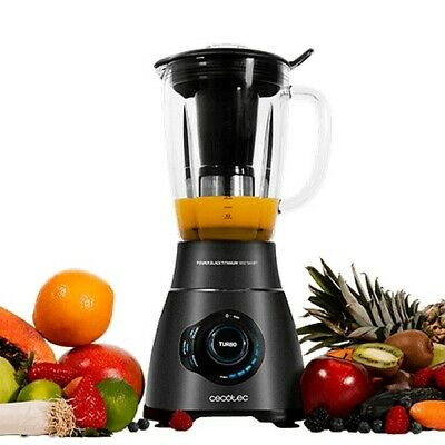 Bol mixeur Cecotec Power Black Titanium 1800 Smart 2,1 L 1800W