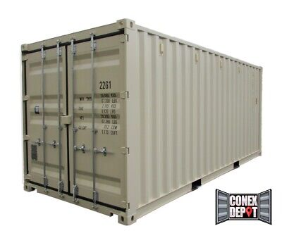 20FT New One Trip Shipping Container For Sale in Savannah, GA - We Deliver