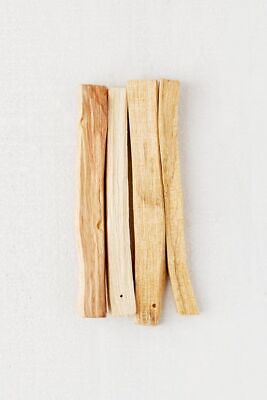"Palo Santo Wood 3 Stick Lot, 4"" long (Incense Smudging, Cleansing), from Peru"