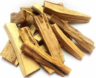 "Palo Santo Wood 10 Stick Lot, 4"" long (Incense Smudging, Cleansing), from Peru"