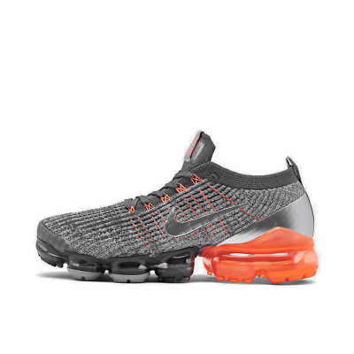 Men's Nike Air VaporMax Flyknit 3 Running Shoes Dark Grey/Metallic Silver/Atmosp