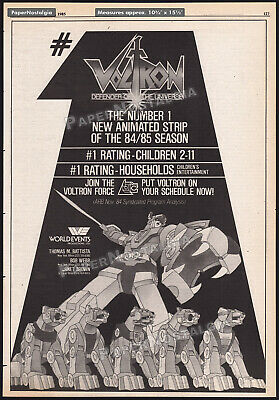 VOLTRON Defender of the Universe Orig 1985 Trade