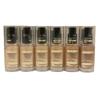 Max Factor Miracle Match Foundation 30 mls choose your color