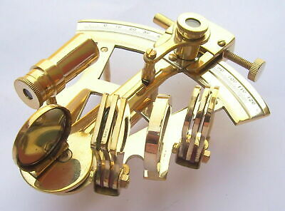 Nautical Ship Instrument Astrolabe Marine Brass Sextant handmade styleHALLOWEEN