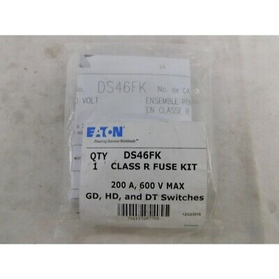 Eaton DS46FK Fuse Accy, 200A, 600V