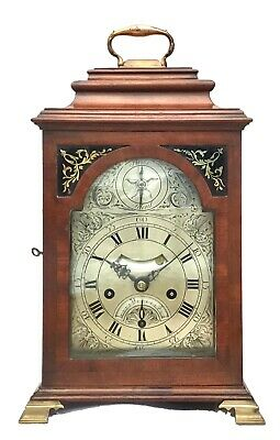 Antique Verge Fusee Bracket Clock