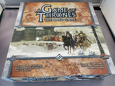 Fantasy Flight Games A Game of Thrones Card Game - Open Box New Unused Complete