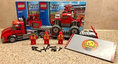 LEGO City Monster Truck Transporter - #60027 - w/instructions