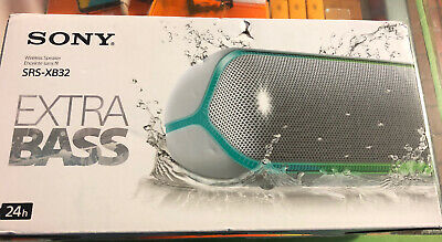 NEW IN BOX - Sony SRS-XB32 Portable Extra Bass Wireless Bluetooth Speaker