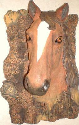 Latex Mould for making this lovely 3d horse plaque