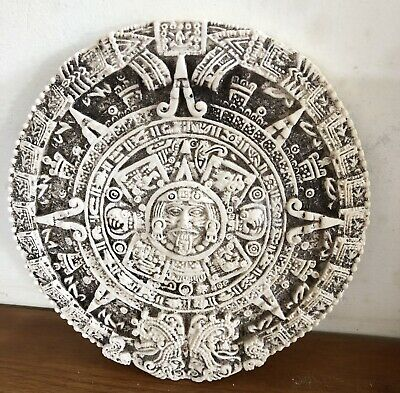 Latex Mould for making this Lovely Aztec Plaque .