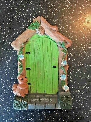Latex Mould for making this lovely fairy door with squirrel