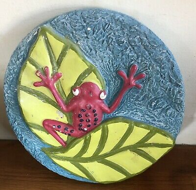 Latex Mould for making this Lovely Garden Stepping Stone/wall Plaque