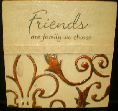 Latex Mould for making this lovely friends plaque