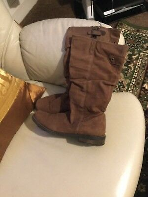Russell & BromleySize eu36 uk 3 Brown Leather Boots