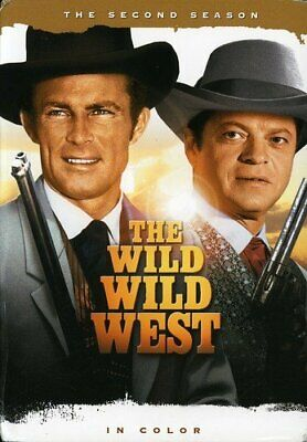 The Wild Wild West Complete Season Series 2 TV Show DVD NEW Western Drama