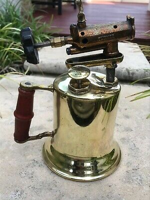 """Vintage """"Turner"""" Blowtorch - Made in Sycamore Illinois USA"""