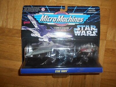 Micro Machines Star Wars blister IX naves episodio 4 imperio rebeldes AWING