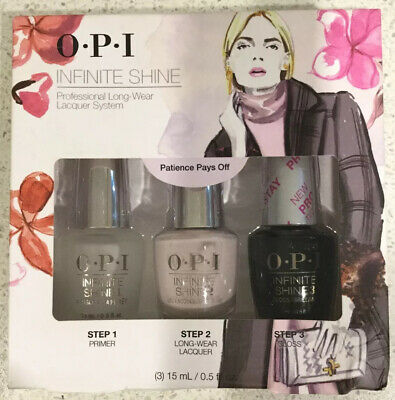 Opi infinite shine Proffesional Long-wear Lacquer System (3 Pack) BRAND NEW