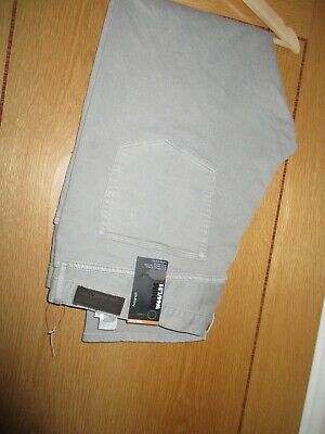 New M & S Autograph Light Grey Chino/Jeans 44/31 BNWT