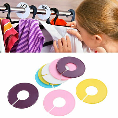 3 Pcs Clothing Size Dividers Plastic Durable Clothes Separator for Dressing Room