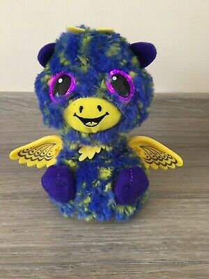 Hatchimals Surprise Giraven Blue - Interactive Toy - Eyes Light Up & Sounds