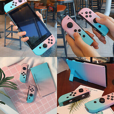 Protective Case Cover Rocker Caps Set For Nintendo Switch Joy-Con Game Console
