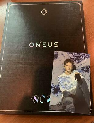 Used ONEUS 808 First Limited Edition CD DVD Photobook LEEDO Photocard Japan